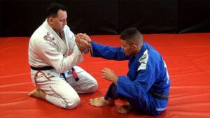 applying wristlock video