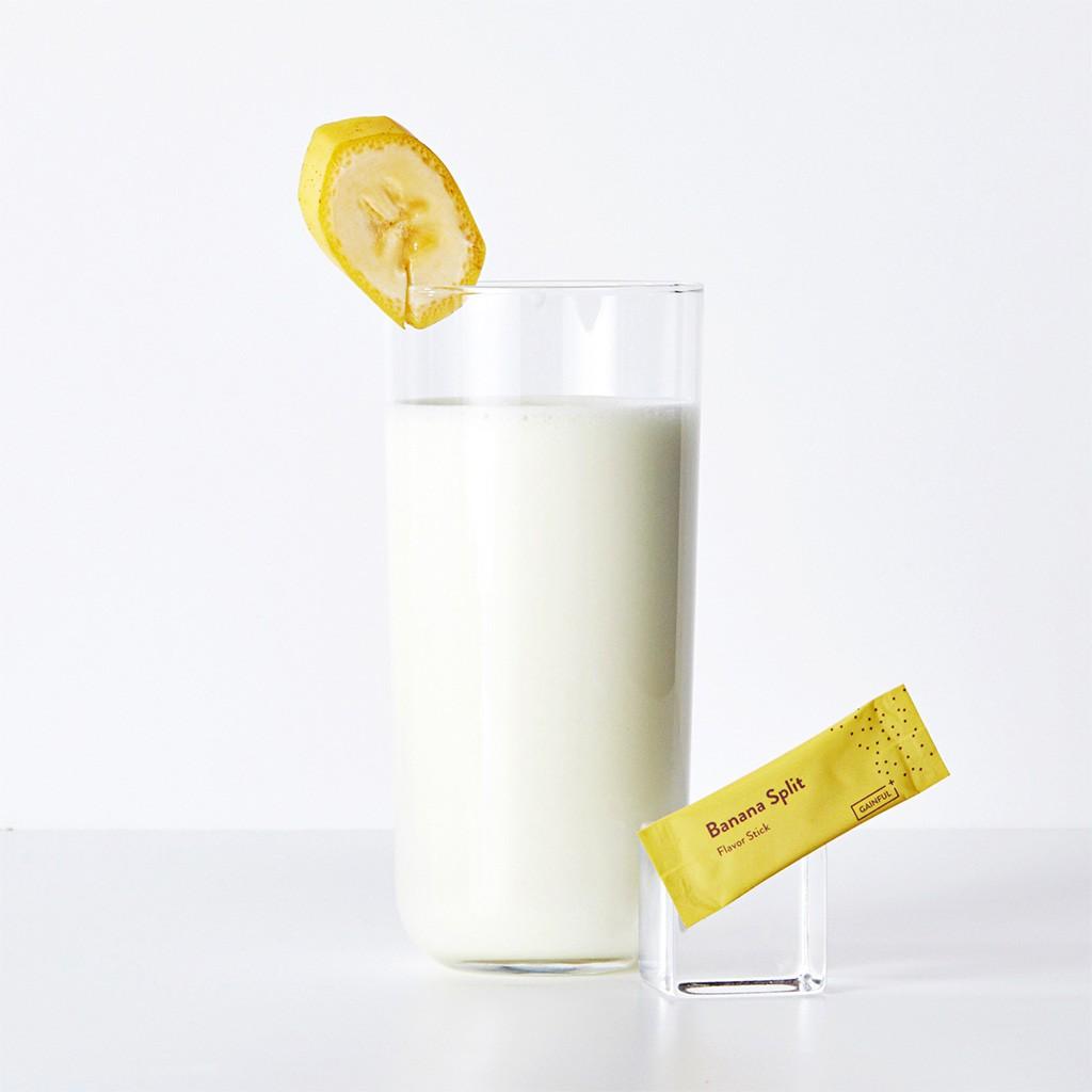Gainful protein flavor banana split