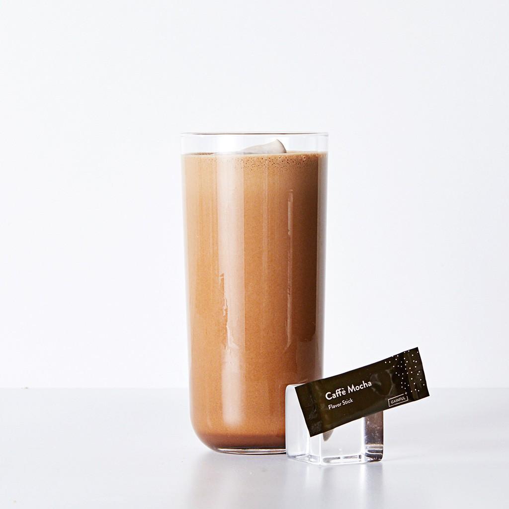 Gainful protein flavor mocha