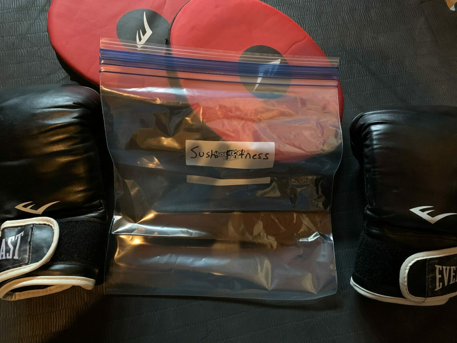 What To Fill Heavy Bag With